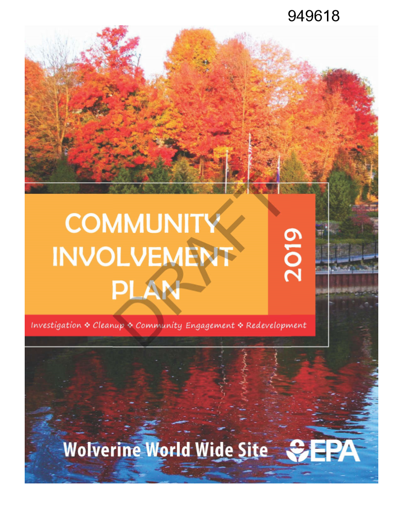Make Your Comments on the Wolverine Cleanup Community Involvement Plan
